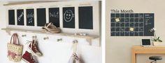 Hoe leuk is dit? Plakfolie waar je met krijtjes op kunt schrijven! Plak het krijtfolie in de kinderkamer, keuken of op het toilet zodat iedereen een boodschap kan achterlaten...