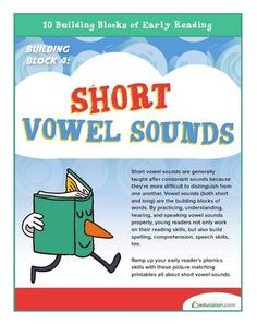 Ramp up your early reader's phonics skills with these picture matching printables all about short vowel sounds. Vowel Worksheets, 1st Grade Worksheets, Reading Worksheets, Preschool Worksheets, Short E Sound, Teaching Child To Read, Short Vowel Sounds, Early Reading, Short Vowels