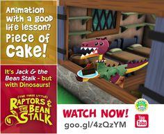 Imagine Jack & the Bean Stalk, but with #Dinosaurs!!!  https://t.co/O5ZZwjPfUR