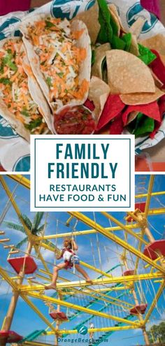 Face painting, rope courses, playgrounds, beach toys, volleyball, music and more. Sounds like a party but it's actually some of the things you can find at the many family friendly restaurants at Gulf Shores and Orange Beach! Your vacation will become even more fun and adventurous as you check out these incredible places to dine with your children. Find great tips on a few places to get you started.   #familytravel #gulfshoresvacation #orangebeachvacation #traveltips #alabamarestaurants Best Family Vacations, Family Road Trips, Family Vacation Destinations, Vacation Ideas, Traveling With Baby, Travel With Kids, Gulf Shores Vacation, Gulf Shores Alabama, Seafood Platter