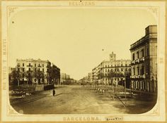 Barcelona is a city with more than years of history behind it, providing fans of the past much to see and do Barcelona, Old Postcards, The Past, Louvre, Street View, Explore, History, City, Travel