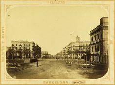 Old postcards: Gran Via #barcelona
