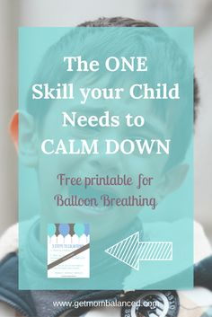 Helping kids calm down   Free printable   Breathing for stress   How to teach breathing techniques to kids   Exercise for children to deal with stress