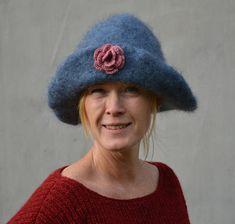 wool-center-gewebter-hut-aus-garn/ - The world's most private search engine Hats For Women, Garner, Diy And Crafts, Winter Hats, Blogg, Beanie, Search Engine, Inspiration, Ideas