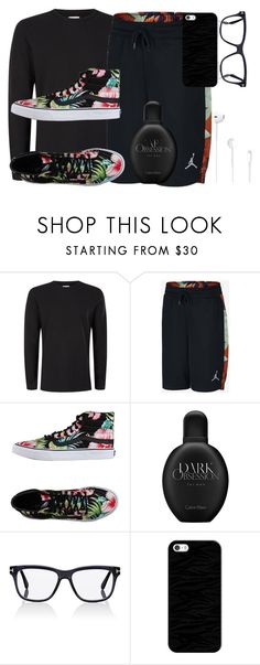 """""""CHRISTIANS STYLE(CRUSH)"""" by tomboy-1-lol ❤ liked on Polyvore featuring Topman, Vans, Calvin Klein, Tom Ford, Casetify, men's fashion and menswear"""