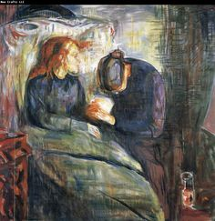 Edvard Munch The Sick girl