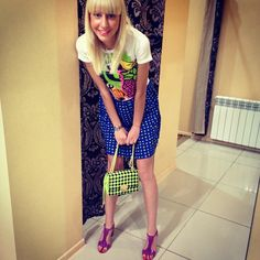 Photo by shevchenko_mary  #moschino #mymoschino #dress #bag