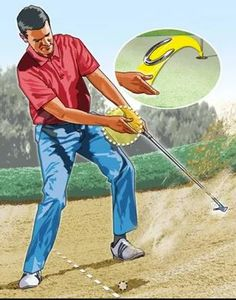Golf Rules A lot of golfers struggle with golf bunker shots because they don't perform the correct technique to make the shot easier. Learn a great golf bunker shot tip here by focusing on the lead hand during the shot. Public Golf Courses, Best Golf Courses, Golf Etiquette, Golf Course Reviews, Golf Score, Golf Putting Tips, Golf Simulators, Golf Instruction, Golf Tips For Beginners
