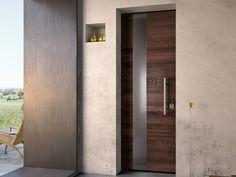 SOVRANA Puerta de entrada en acero y madera by GAROFOLI