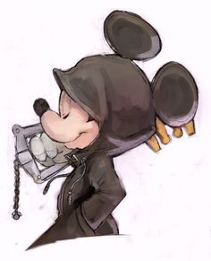 Mickey and the keyblade
