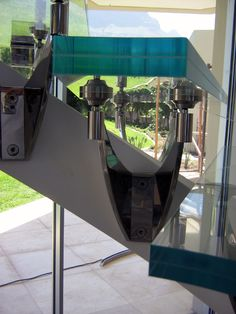 Manufactured by RTA, Stair tread using Low Iron Glass and RHR (Stellenbosch SA)