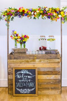 Colorful rainbow wedding inspiration by Vintage Amy and Katie Rogers Photography // www.onefabday.com
