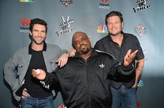 Our Bady Boys of #TheVoice at the #Top12 party!