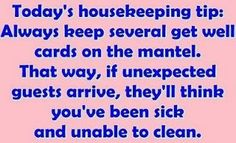 "Actually...not the WORST idea I've ever heard...lol.  Should be under ""cleaning tips?"""