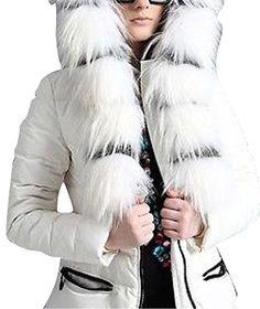 Luxurious Womens Winter Goose Down Ja...