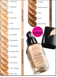 Which Ideal Flawless shade are you? Find a foundation that blends into your skin and looks invisible. http://www.yourAvon.com/bbynum