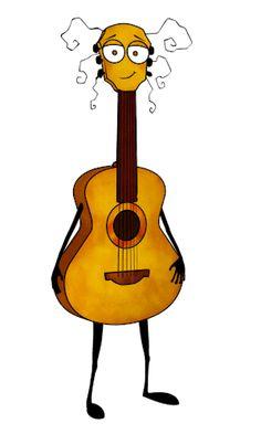 Sounzee the acoustic guitar