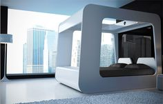 It's half futuristic self-contained entertainment pod, half serene sleeping chamber. The HiCan bed was obviously made for the people who slept in racecar beds in their childhood. The all-in-one bedroom entertainment center has so many awesome features that it's hard to imagine you'd ever leave bed again with this at home. In fact, as long [...]