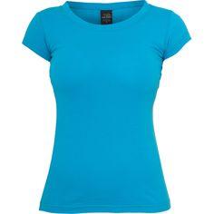 Urban Classics Ladies Basic Tee Damen T-Shirt Türkis XL