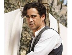The beautiful Colin Farrell as Mr. Banks in the movie Saving Mr. Banks