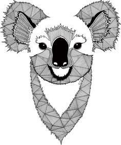 Koala Art Print By Et Be