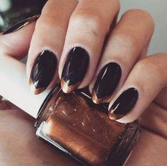 #manicure na Sylwestra 2015/2016, fot. instagram.com/nailspapoland