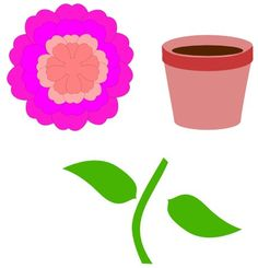 Free | svg flower pot plant Miss Vickie's CuttingCrazy Blog