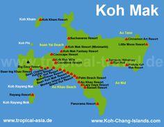Voyage de ma fille - 3 semaines dont quelques jours Koh Mak - MARS 2016