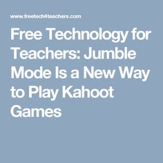 24 Best Articles about Kahoot! images in 2019   Classroom