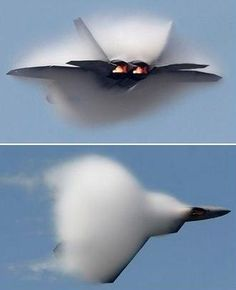 Sound barrier.. seeing this in person is beyond awesome!!