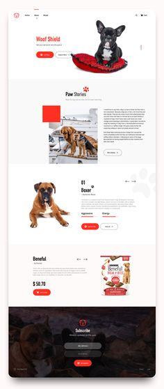 Dog Kennel Deck – Incredible Home Decking Website Design Layout, Web Layout, Layout Design, Grid Web Design, Web Animal, Web Design Projects, Landing Page Design, Grafik Design, Web Design Inspiration