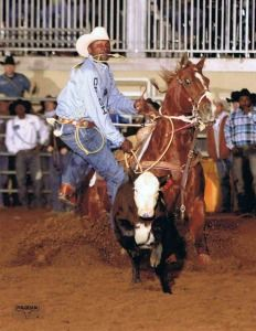 Cowboy Lifestyle Network's PRCA Celebrity of the Month is 8x World Champion Fred Whitfield from Hockley, Texas. Larry-Fulfham-photo-918-649-7046