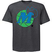 NBA Exclusive Collection Dallas Mavericks Neon Pop Logo T-Shirt