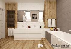 Łazienka styl Nowoczesny - zdjęcie od design me too Dom, Bathroom Inspiration, Alcove, Bathtub, Vanity, Design, Bath, Projects, Ideas