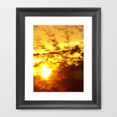 Crepusular Light Framed Art Print by Christy Leigh - $32.00