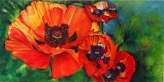 Image result for poppies painting