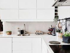 Diseño y cálidez en blanco y negro.   Decorar tu casa es facilisimo.com