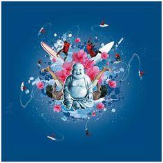 Surf´n Yoga | Flickr - Photo Sharing! Illustration, Surfing, Sci Fi, Yoga, Art, Art Background, Science Fiction, Kunst, Surf