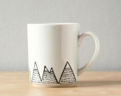 Hand painted mug by cristina