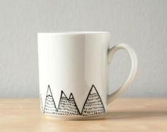 Hand painted mug by cristina
