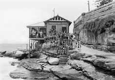 Coogee Life Saving Club in Sydney Map, Sydney City, Coogee Beach, Bronte Beach, French Exterior, Sydney Beaches, Historical Pictures, Sydney Australia, City Streets
