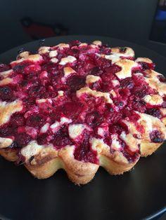 Gâteau aux framboises comme un sablé ...