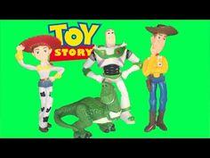 Disney Toy Story Mini Figurines with Woody, Jessie, Buzz Lightyear, and Rex - YouTube