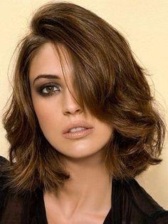 Se eu tivesse o cabelo ondulado... vontade de cortar! #se