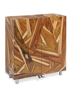 Boise de Rose, container with wooden frame finished with rosewood veneer inlay. Inside lacquered and aluminum feet, Massimo Morozzi, Edra