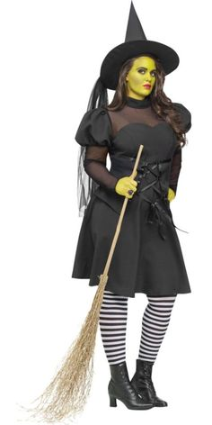 Adult West Witch Costume Plus Size - Party City