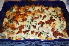 Roasted Garlic Asiago Chicken & Potatoes