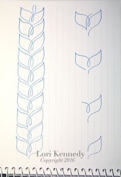 Doodle Lessons, Braided Wheat