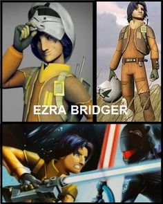 Star Wars Rebels ... Ezra (Space Aladdin XD) No hes actually not that bad, just doesn't feel like Ahsoka though