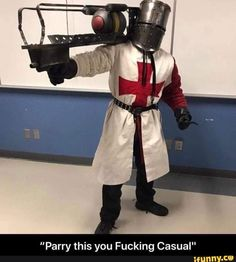 """Parry this you Fucking Casual"" - iFunny :) Funny Christian Memes, Christian Humor, Fallout Art, Fallout New Vegas, Best Memes, Dankest Memes, Funny Memes, Meme Meme, Reaction Pictures"